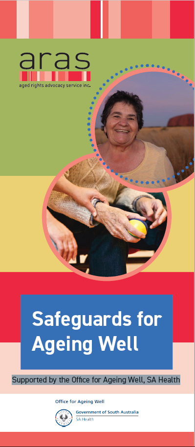 Safeguards for ageing well front page